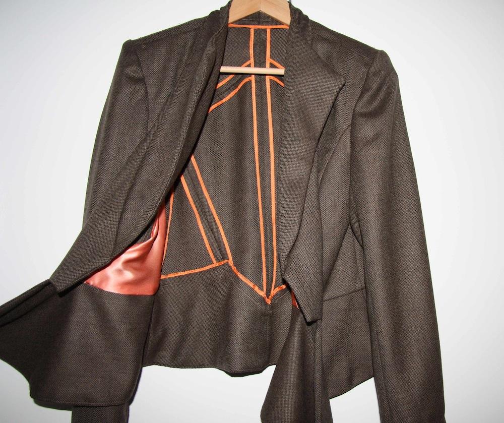 V8739 Vogue Suit Jacket