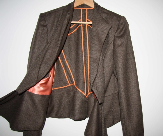 V8739 Vogue Suit Jacket