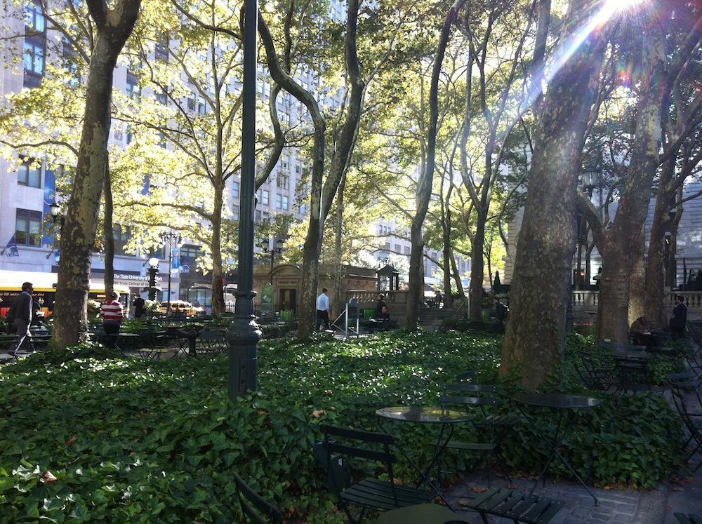 Bryant Park, New York
