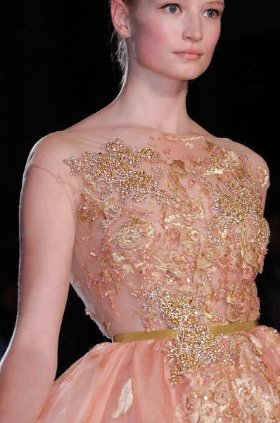 elie saab close up fall 2012 couture look 14