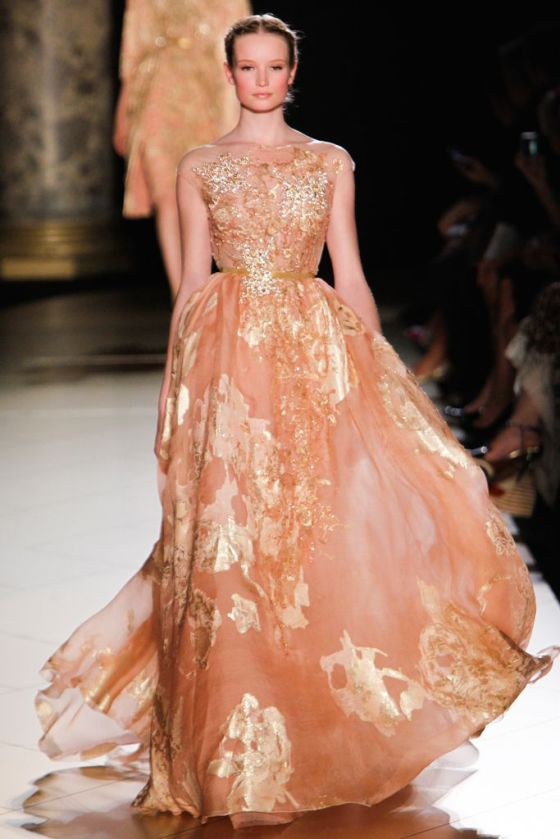 Elie Saab Fall 2012 Couture Collection, look 14 from Style.com
