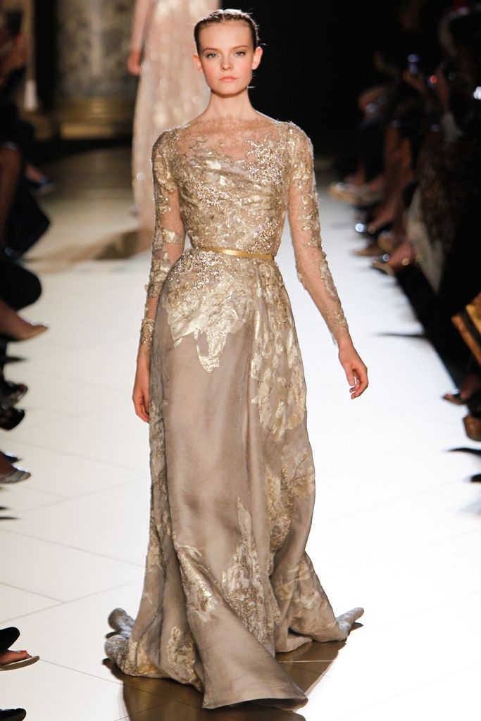Elie Saab Fall Couture 2012 Collection