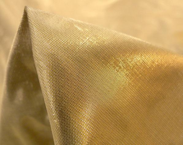 metallic gold fabric Tessuti