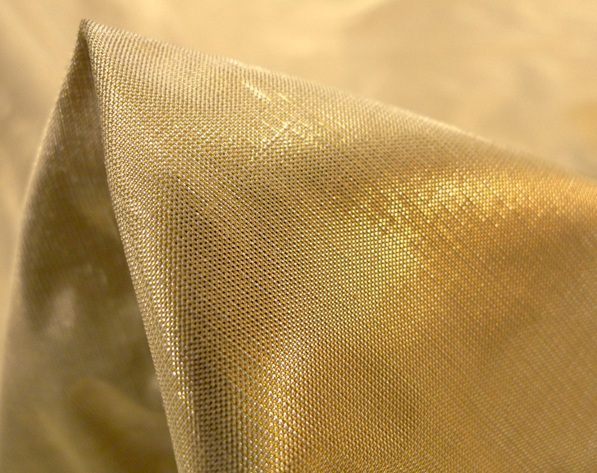 metallic gold fabric Tessuti